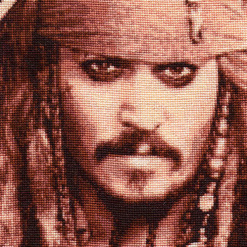 Jack Sparrow - Cross Stitch Pattern