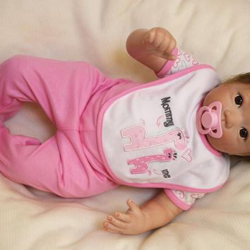 Silicone Baby Dolls  Lifelike Reborn Child Full Body