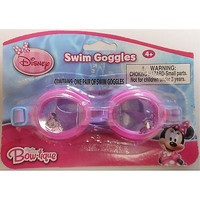 Mickey Mouse Clubhouse Minnie Mouse Pink Swimming Goggles-New in Package!Random