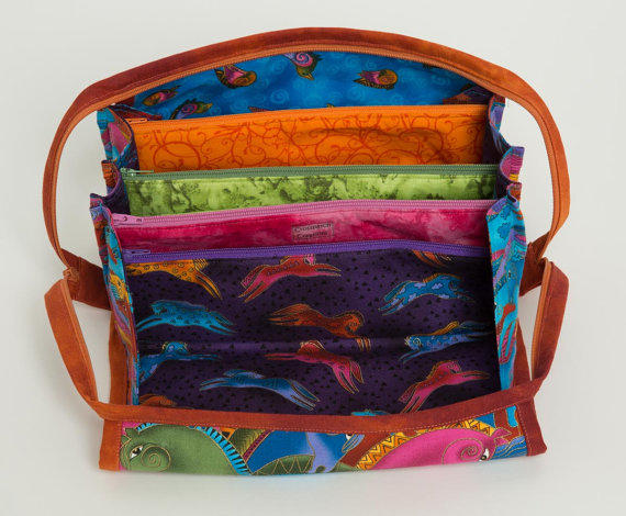 Knitting Notions Organizer : Storage bag bionic gear knitting from