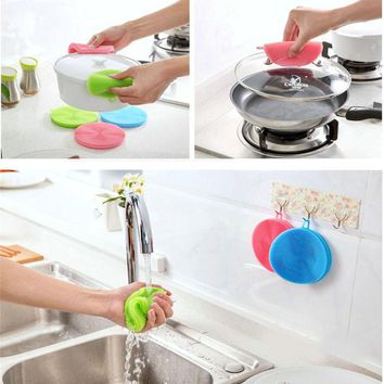 Silicone Cleaning Scrubber