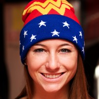 Wonder Woman Pom Beanie