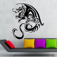 Wall Stickers Vinyl Decal Dragon Gothic Fantasy Decor Nursery Kids Room Unique Gift (ig1830)