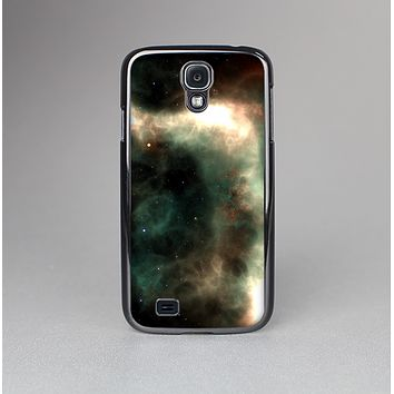 The Dark Green Glowing Universe Skin-Sert Case for the Samsung Galaxy S4