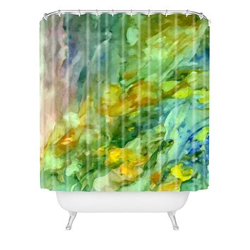 Rosie Brown Beyond The Sea Shower Curtain