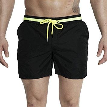 DESMIIT Mesh Lining Beach Shorts