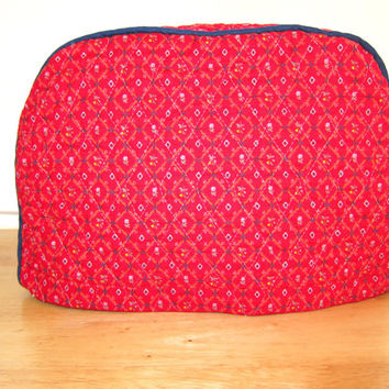 Toaster Cover / Quilted Toasted Cover / 2 Slice Toaster Cover