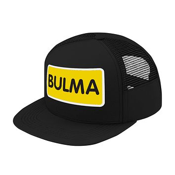 Super Saiyan Bulma Symbol Trucker Hat - PF00178TH