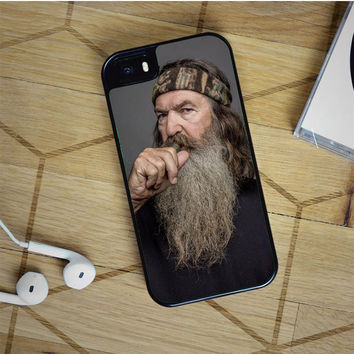 duck dynasty phil iPhone 5(S) iPhone 5C iPhone 6 Samsung Galaxy S5 Samsung Galaxy S6 Samsung Galaxy S6 Edge Case, iPod 4 5 case