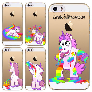 Unicorn & Rainbow Phone Case