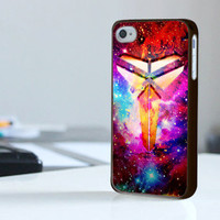 Kobe Bryant Galaxy Nebula - Print On Hard Cover - iPhone 4/4S Case and iPhone 5 Case