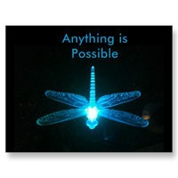 Anything is Possible Postcards from Zazzle.com