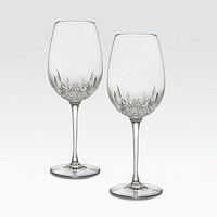 Lismore Essence Crystal Red Wine Glass, Set of 2