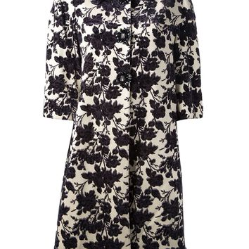 Tory Burch floral print coat