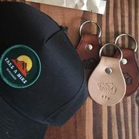 Cabin- Leather Key Tags