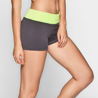 Full Tilt Sport Womens Shorts Charcoal  In Sizes