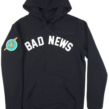 ca spbest Grizzly Griptape Bad News Sweatshirt Hoodie Pullover Mens Black