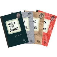 Wreck This Journal (4 Volume Set)
