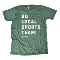 GO LOCAL SPORTS TEAMS! (Green Options)