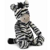 JELLYCAT MEDIUM BASHFUL ZEBRA