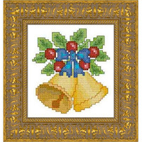 Christmas bells -  PDF Cross Stitch Pattern - INSTANT DOWNLOAD