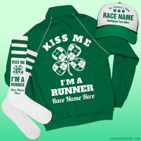 Custom St Pattys Run/Walk Jacket