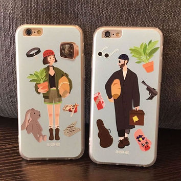 Hot Deal On Sale Hot Sale Cute Iphone 6/6s Stylish Relief Sculpture Phone Case [4915519172]