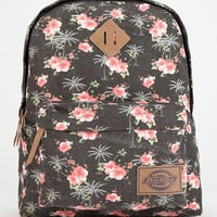 Dickies Hawaiian Canvas Backpack Black Combo One Size For Men 26661514901