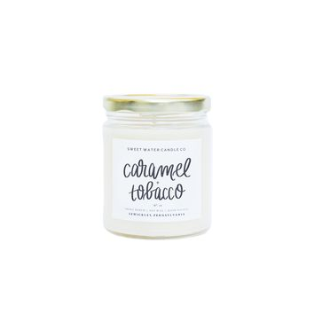 Caramel + Tobacco Soy Candle