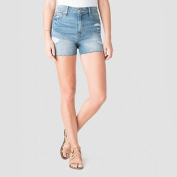 DENIZEN® from Levi's® Women's Super High-Rise Jean Shorts - (Juniors') Medium Wash