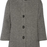 Burberry London - Ribbed wool-blend coat