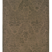 Dax Jones Beige/Olive Area Rug (5'X8')