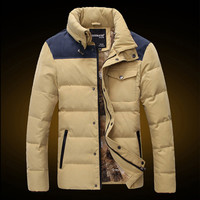 New Men's Fashion Puffer Jacket
