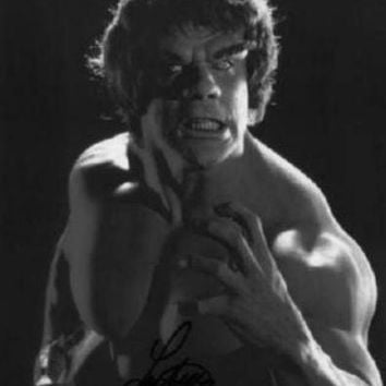 Incredible Hulk Poster Standup 4inx6in black and white