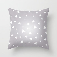 Starry Night Throw Pillow by HelloM