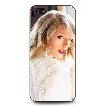 Taylor Swift In White iPhone 5 | 5S Case