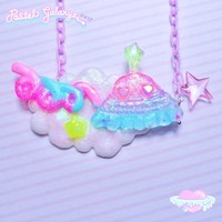 UFOH! In The Cloudz! Necklace- ♡2 from Pastel Galaxyz
