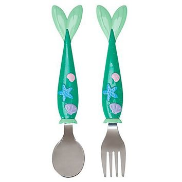 The Little Mermaid Ariel Flatware Set -- 2-Pc. | Home & Decor | Toddlers | Disney Store