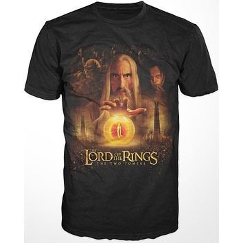 Lord of the Rings Saruman The Two Towers Shirt