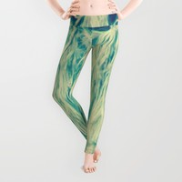 Frinje texture Leggings by RaquelCaceresMelo