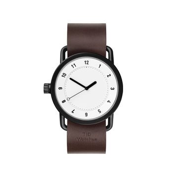 TID Watches — No.1 White Walnut Watch