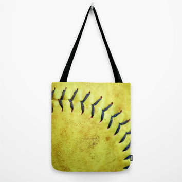 Softball Tote, Ball Game Bag, Equiptment Gym Bag, Softball Gifts