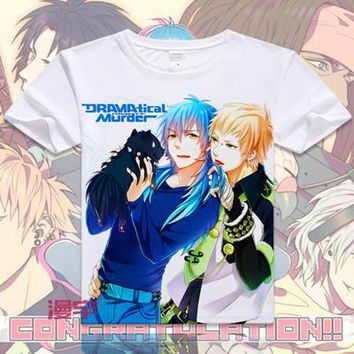 Dramatical Murder Short Sleeve Anime T-Shirt V1