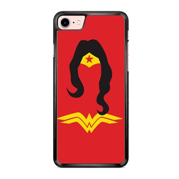 Wonder Woman Red iPhone 7 Case