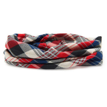Plaid Headband - Aeropostale