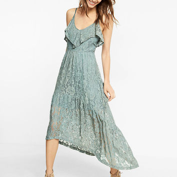 All-over Lace Maxi Dress