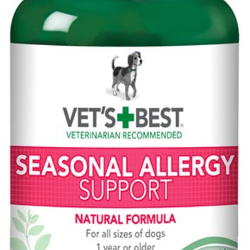 Vet's Best Seasonal Allergy Support 60 Tablets