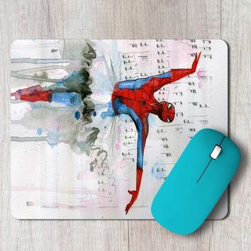 Rectangle Mouse Pad Spiderman Ballet Cell Phone Case