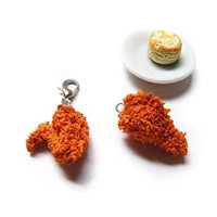 Fried Chicken Wing Charm