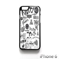 5 SOS Blink 182 All Time Low Coldplay Pierce The Veil for Iphone 4/4S Iphone 5/5S/5C Iphone 6/6S/6S Plus/6 Plus Phone case